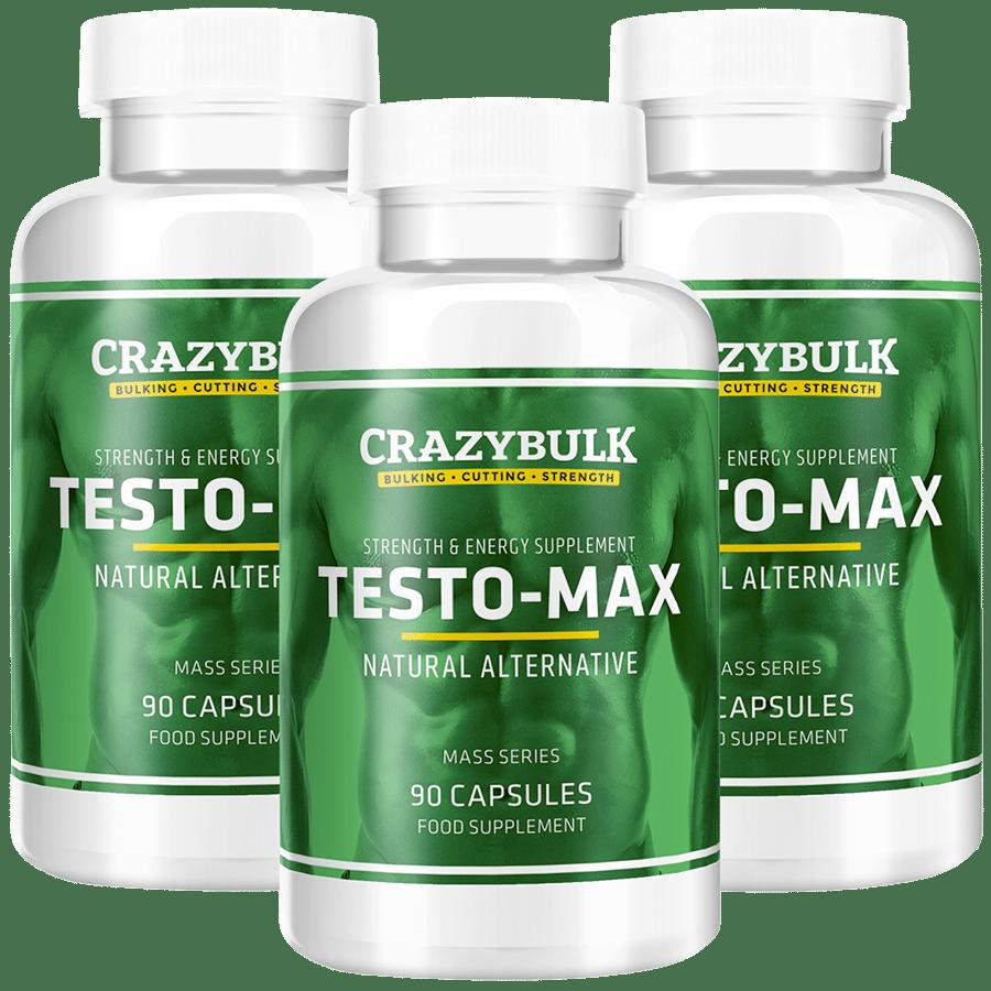 Bouteilles de Testo Max de CrazyBulk