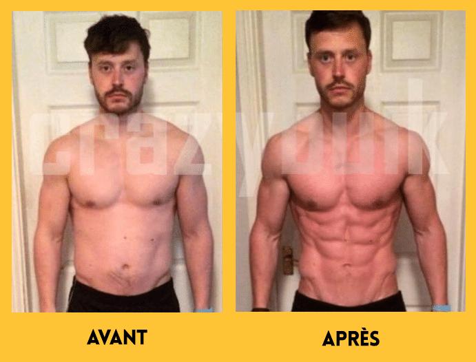 Résultats Clenbutrol avant et après