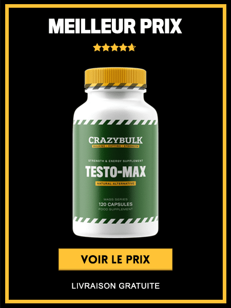 Acheter Testo Max au meilleur prix